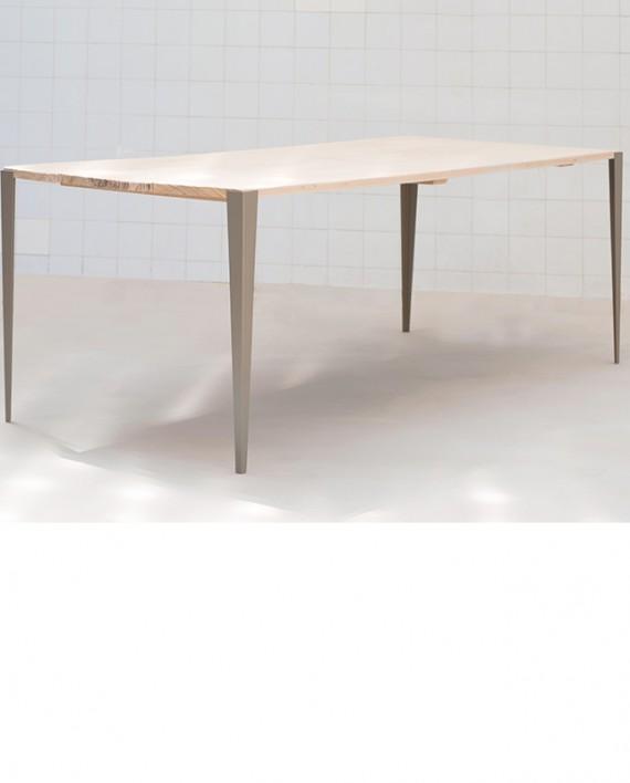 Tol x fabricant de pieds de table et plateau en bois design - Table haute design industriel ...