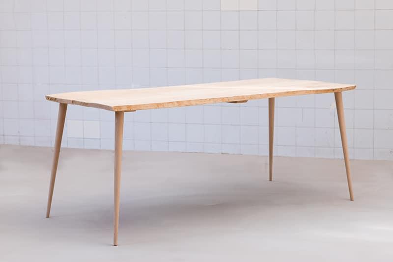 Pied de bureau bois sti k fabricant de pieds de table et