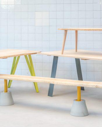 plateaux de table en chêne massif