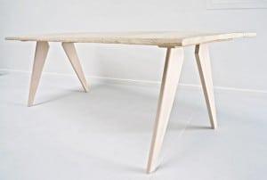 montage pied de table en compas