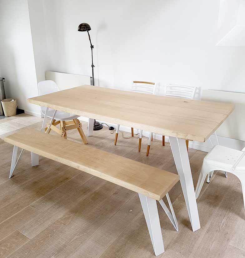 Banc Et Table En Bois Massif Fabricant De Pieds De Table Et