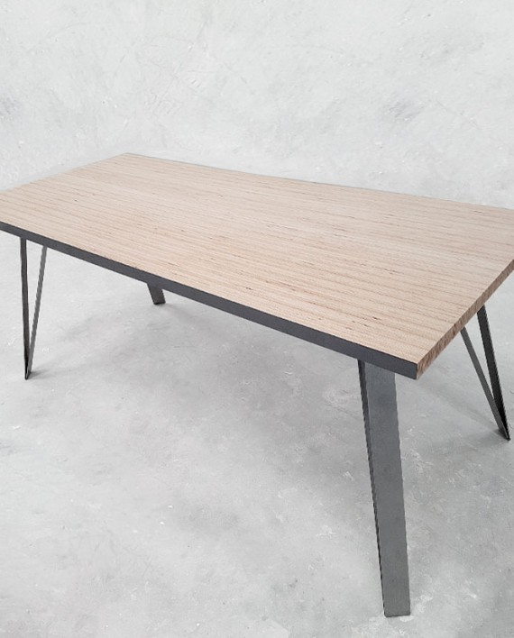 plateau table bureau en hetre massif