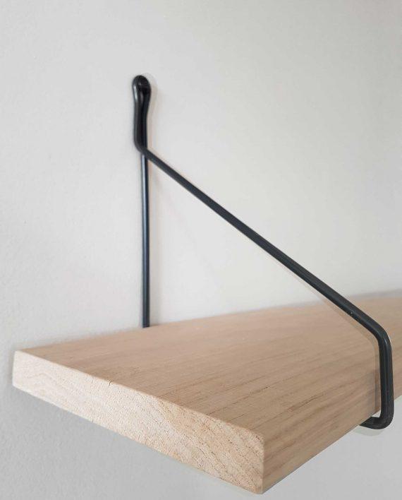 etagere design fil metal et bois
