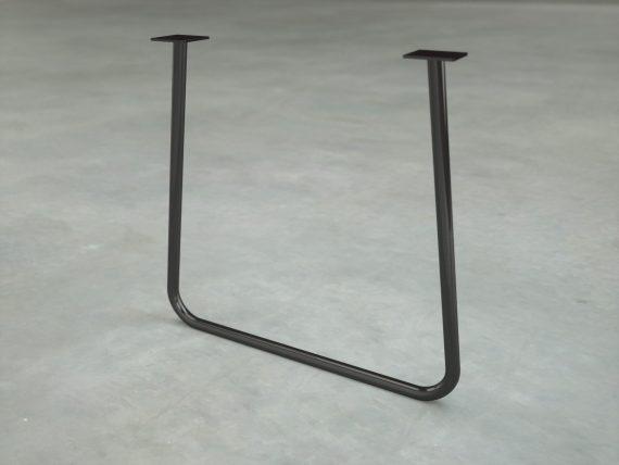 Pied de bureau en tube metal