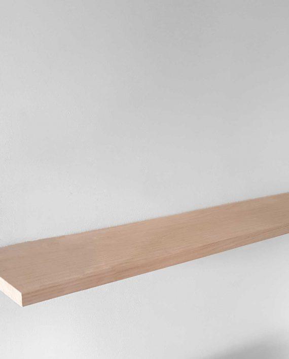 Tablette chêne pour étagère