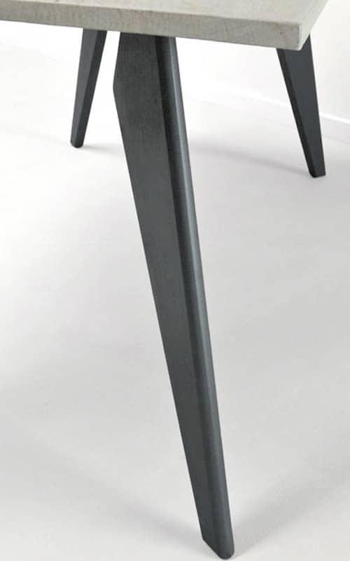 pietement en bois massif pour meuble PROOW