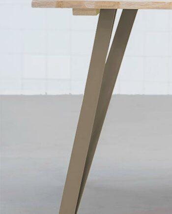 pie de table en acier pour plateau lourd
