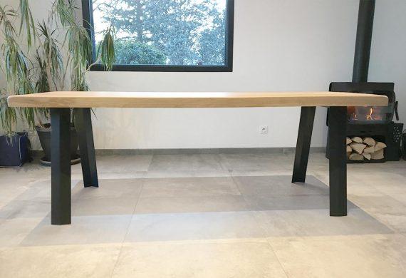 2 pieds Treteau pour table plateau lourd