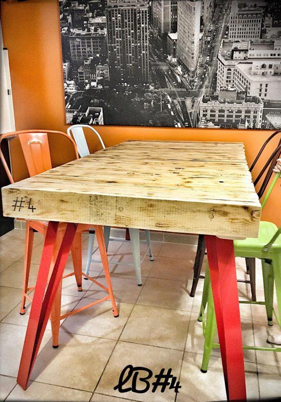 Pied de table GRAKF pour plateau lourd