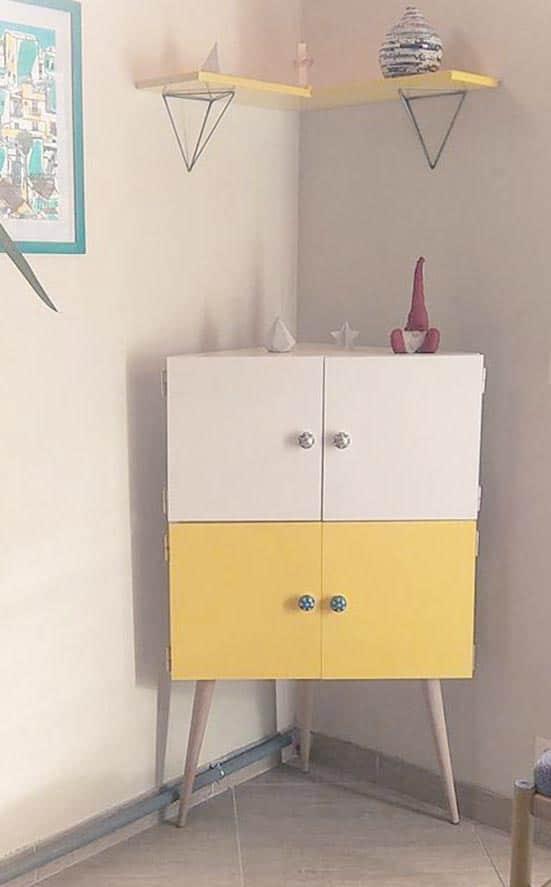 3 pieds compatible pour meuble buffet IKEA