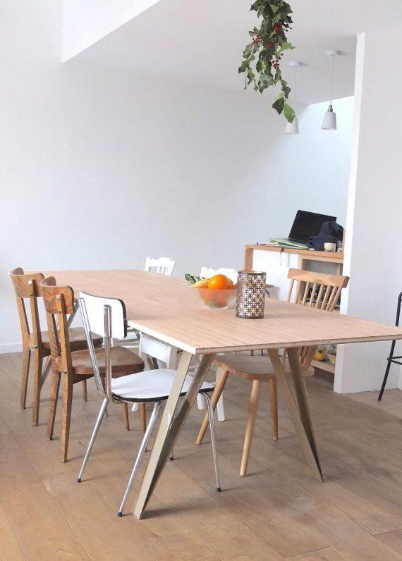 Pieds de table elegants GRAFK style moderne