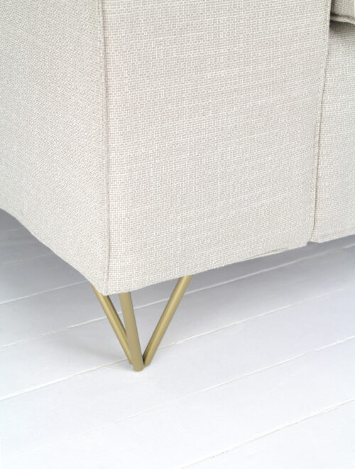 pied de canapé en laiton